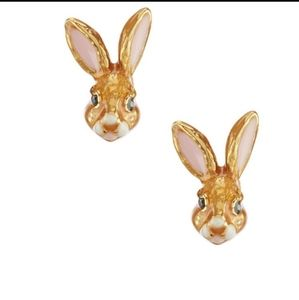 Kate spade bunny earrings